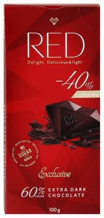 Шоколад Red Exclusive экстра темный какао 60% 100 г