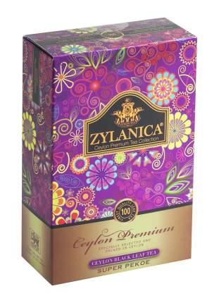 Чай черный листовой Zylanica batik design super pekoe 100 г