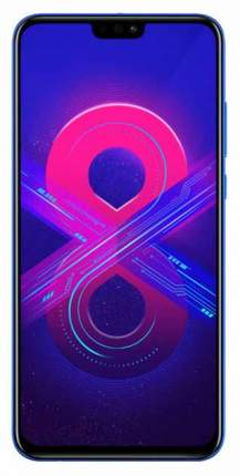 Смартфон Honor 8X 128Gb Phantom Blue (JSN-L21)
