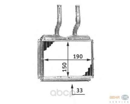 Теплообменник Hella 8FH351313-021