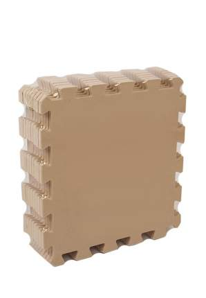 Развивающий коврик Eco Cover 60*60  см бежевый