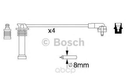 Комплект высоковольтных проводов BOSCH 0986356805