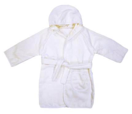Халат детский Папитто махровый Белый р.86 3020