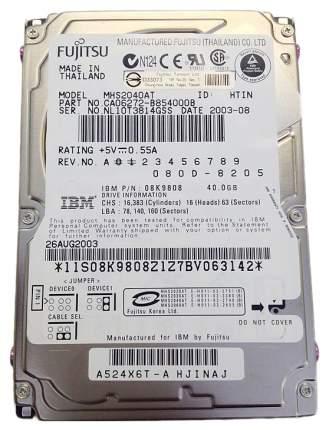 Внутренний жесткий диск Fujitsu 40GB (MHS2040AT)