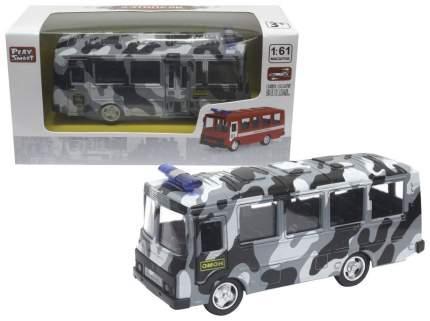 Машина спецслужбы Play Smart Автобус Омон 6523-В