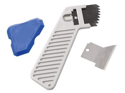 Набор Cramer с ножом для зачистки межплиточных швов и шпателем для герметика