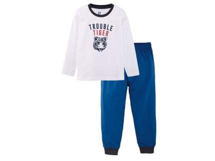 Пижама для мальчика Lupilu белый р.110-116