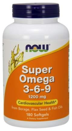 Omega 3-6-9 NOW Super 180 капс.