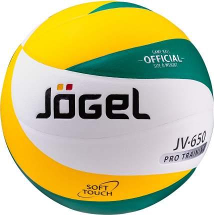 Волейбольный мяч Jogel JV-650 №5 white/green/yellow