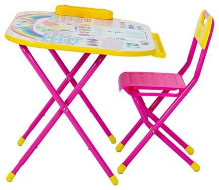 Набор Трансформируемой Мебели Дошколёнок-Блокнот, Розовый У2Р/1,Роз Дэми