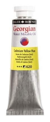 Масляная водорастворимая краска Daler Rowney Georgian кадмий желтый 37 мл