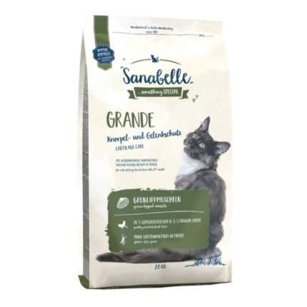 Сухой корм для кошек Bosch Sanabelle Grande, для крупных пород, домашняя птица, 2кг