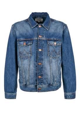 Куртка джинсовая мужская Wrangler синяя 44