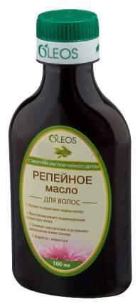 Масло репейное OLEOS с эфирным маслом чайного дерева 100мл