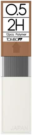 """Грифели для механических карандашей Tombow """"Mono"""", 0,5 мм, 2H, 12 штук"""