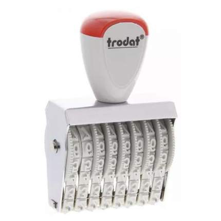 Нумератор ленточный Trodat Classic Line 1578. 8 разряда. Высота шрифта: 7 мм.