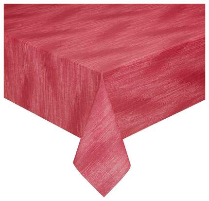Скатерть Peyer Living Montrea, 130х220 см Красный