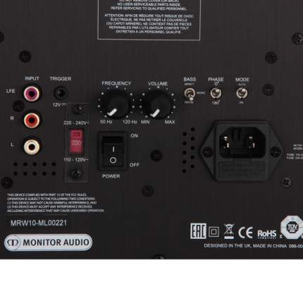 Сабвуфер Monitor Audio Reference MRW10 Walnut