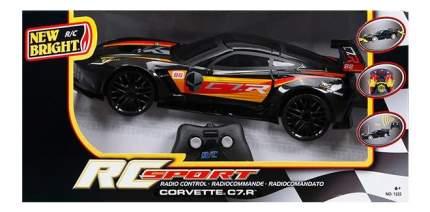 """Машина радиоуправляемая New Bright """"Corvette C7R"""" Чёрный"""