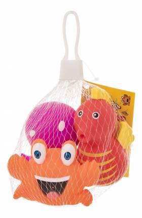 """Набор игрушек для ванны """"обитатели морей"""", 3 шт."""