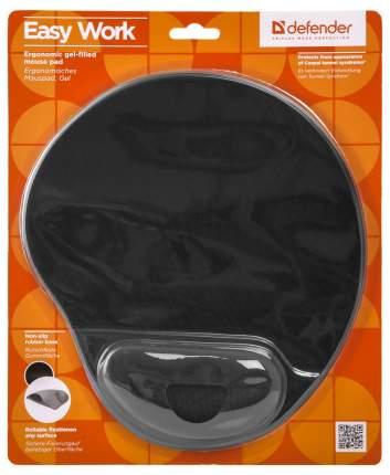 Коврик для мыши Defender Easy Work ERGO 50905 Черный