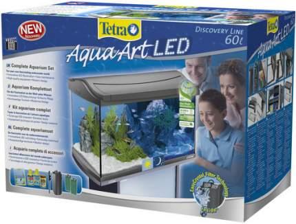 Аквариумный комплекс для рыб Tetra AquaArt LED Tropical, антрацит, 60 л