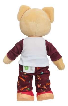 Мягкая игрушка Plush Apple Спокойной ночи, малыши! Хрюша GT8921 в пижаме, со звуком, 27 см