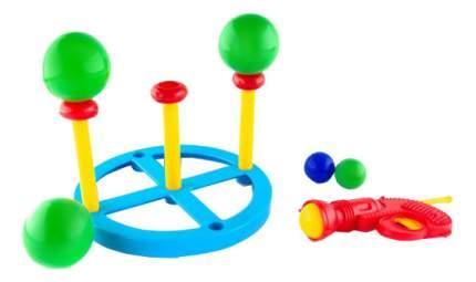 Игровой набор Пластмастер Тир с шарами