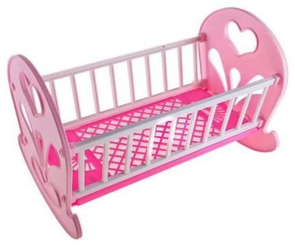 Кроватка-качалка для кукол Огонек ОГ250 С-250