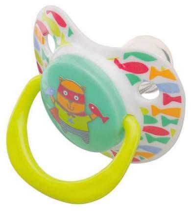 Соска-пустышка Happy Baby Natural Кошечка 13008/1