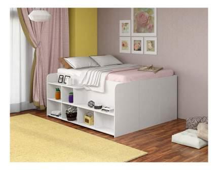 Кровать TWIST UP левосторонняя белая