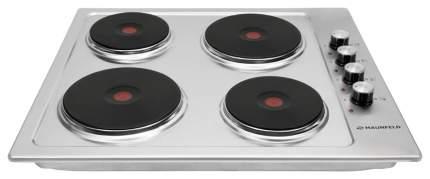 Встраиваемая варочная панель электрическая MAUNFELD EEHS.64.4S Silver