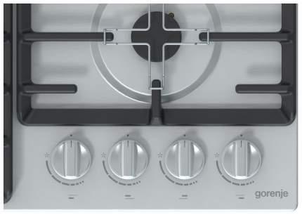 Встраиваемая варочная панель газовая Gorenje G641ZX Silver