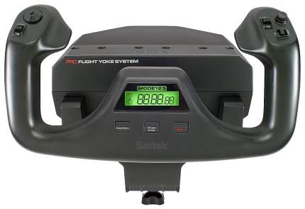 Джойстик Logitech Flight Yoke System Black (945-000004)