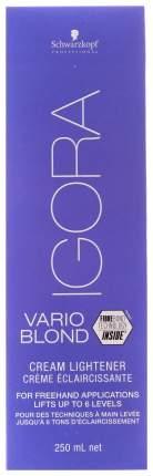 Осветлитель для волос Schwarzkopf Igora Vario Blond Cream Lightener 250 мл