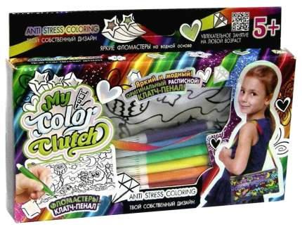 Набор для рисования Danko Toys My Color Clutch клатч-пенал Совы