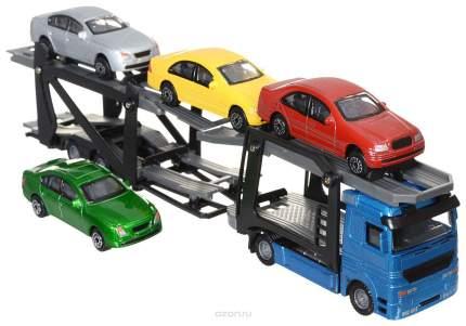 Набор пластиковых машинок Dickie Toys С 4 машинками
