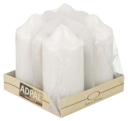 Набор свечей Adpal 348-591 Белый