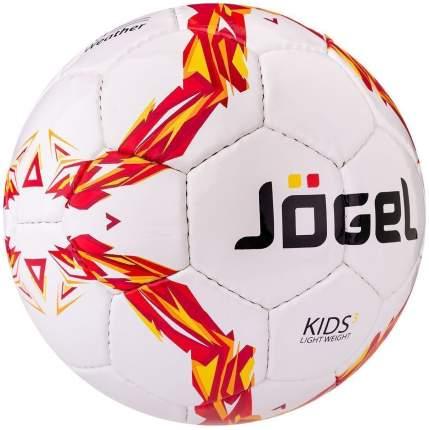 Футбольный мяч Jogel Kids JS-510 №3 white/red