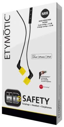 Наушники Etymotic ERHD-3 Safety Black