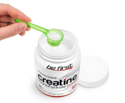 Be First Micronized Creatine Powder 300 г малина