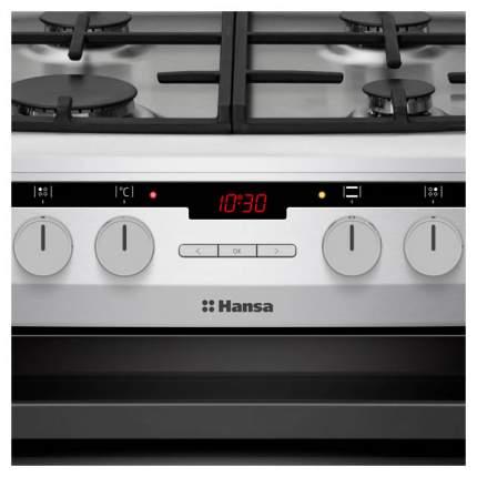 Комбинированная плита Hansa FCMXS582977 Silver
