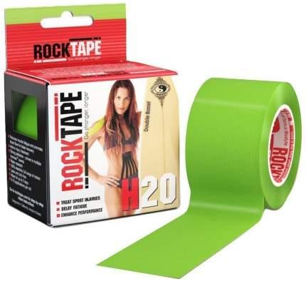 Кинезиотейп Rock Tape H2O зеленый 5 см x 5 м