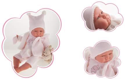 "Кукла-младенец ""Реборн"" - Салюд, в розовом, 52 см Munecas Antonio"