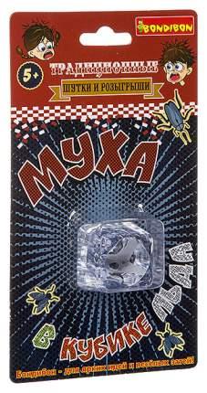 Фокусы от Bondibon, Шутки-приколы, Муха в кубике льда, арт 7512
