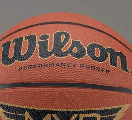 Мяч баскетбольный Wilson MVP WTB1418, 6, коричневый