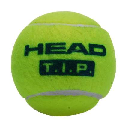 Набор мячей Head T.I.P Green детский 3 шт., зеленый