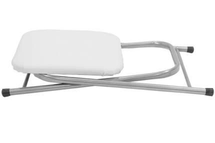 Табурет складной белый 4109
