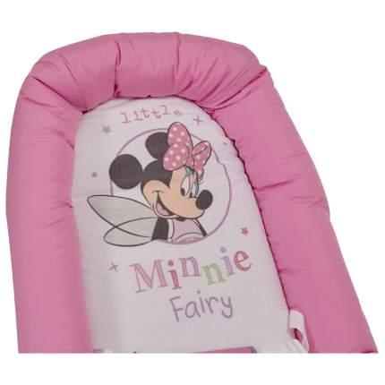 Детский шезлонг Polini kids Disney baby Минни Маус, розовый