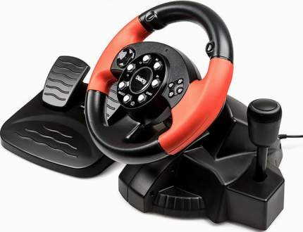 Игровой руль E-Racer GW-225VR Black/Red